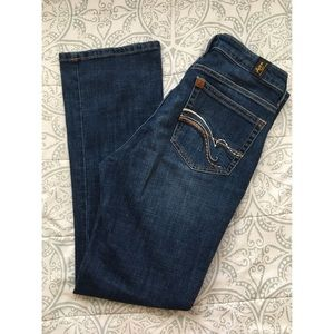 🥈new western aura jeans western